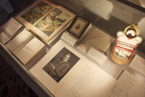 Vaughan WIlliams ephemera in cabinet