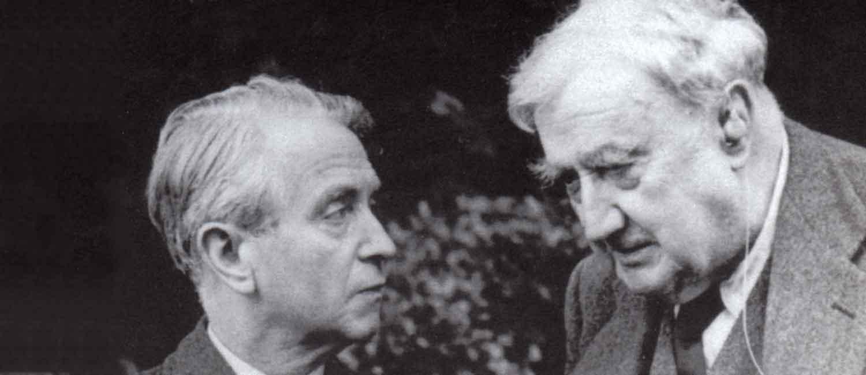 Vaughan Williams with Herbert Howells