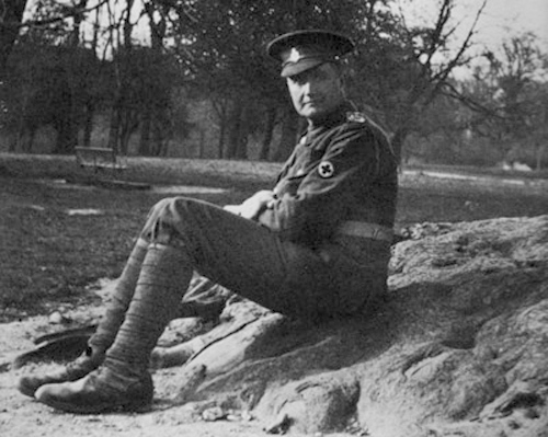 Vaughan Williams in uniform