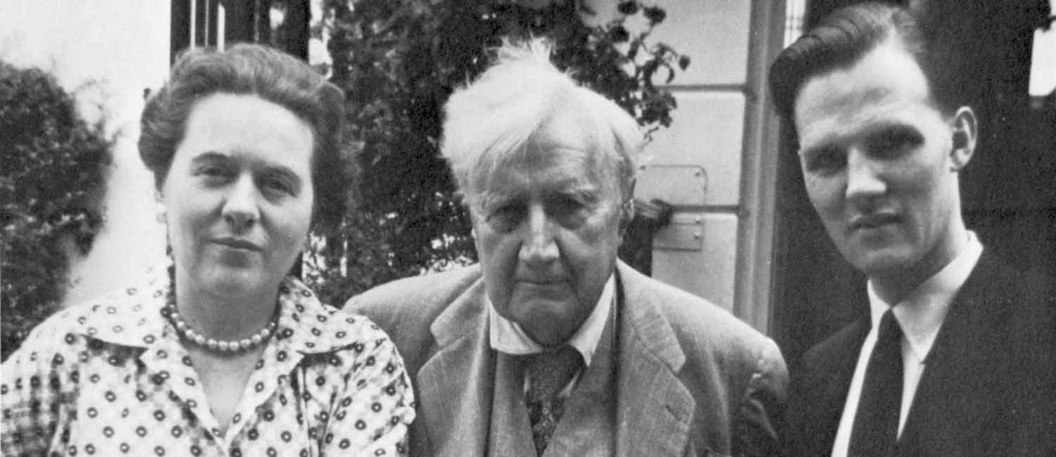 Vaughan Williams , Ursula and Michael Kennedy in Cheltenham 1958