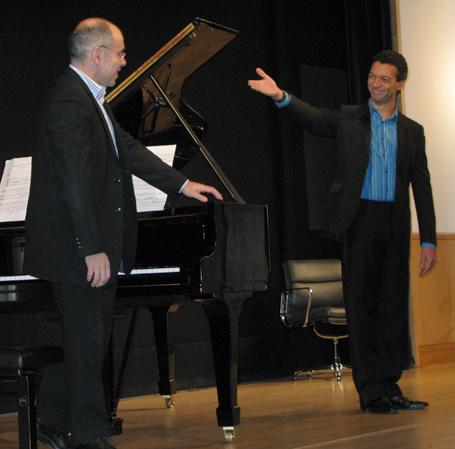 Roderick Williams and Iain Burnside