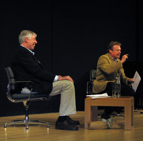 Stephen Connock with Richard Hickox