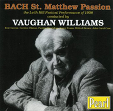 St Matthew Passion CD cover