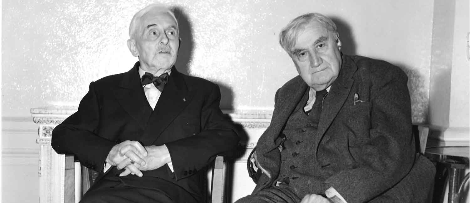 Vaughan WIlliams with Florence Schmidtt