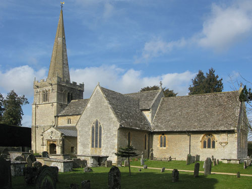 All Saints, Down Ampney