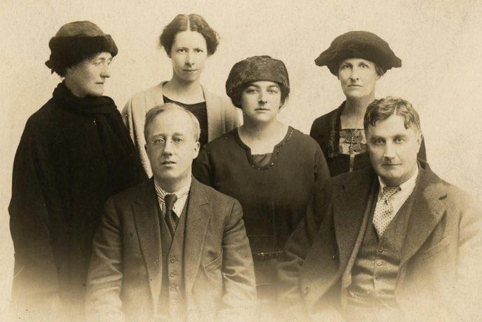 Vaughan Williams, Adeline & Gustav Holst