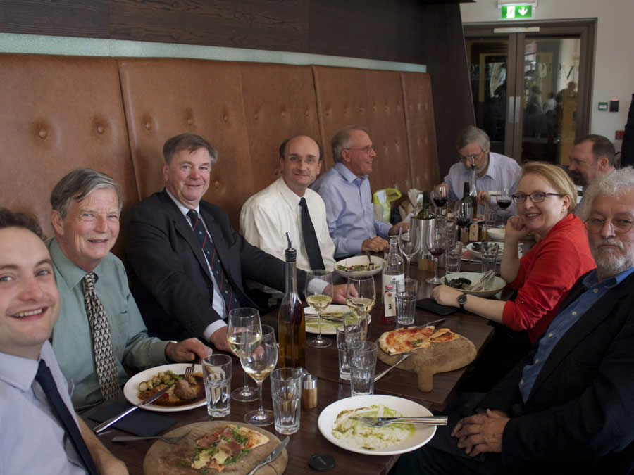 Trustees' lunch with Andrew Manze