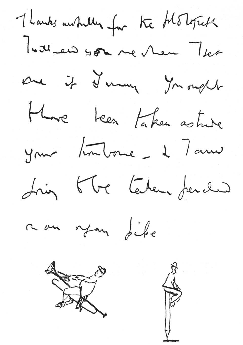 letters to Gustav Holst