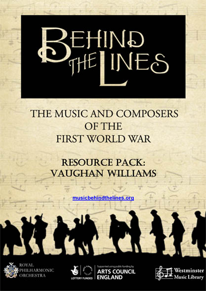 WW1 resource-Vaughan Williams