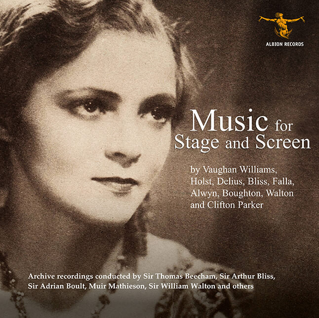 Music for stage CD cover