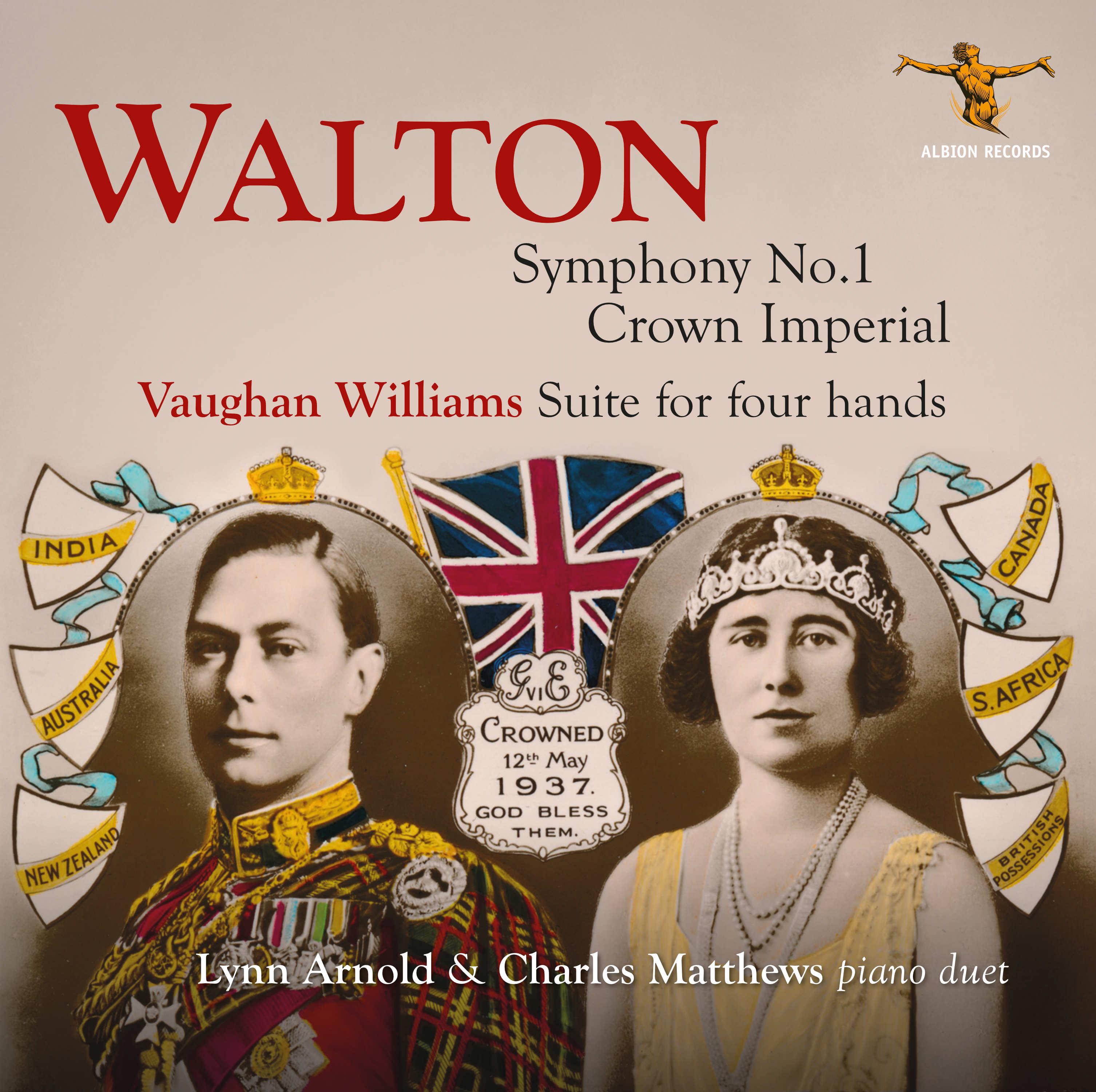 Walton & Vaughan Williams CD Cover